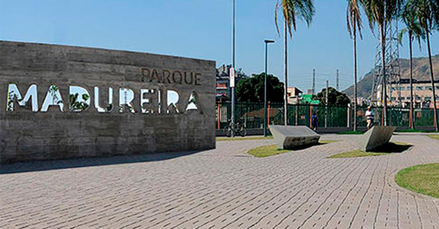 Parque de Madureira recebe pisos intertravados Pavibloco